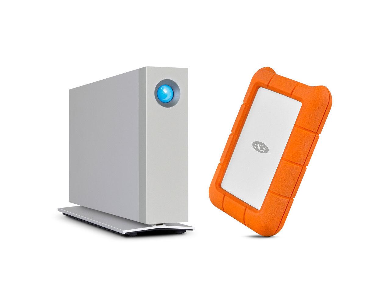 LaCie visar diskar med USB-C och Thunderbolt 3