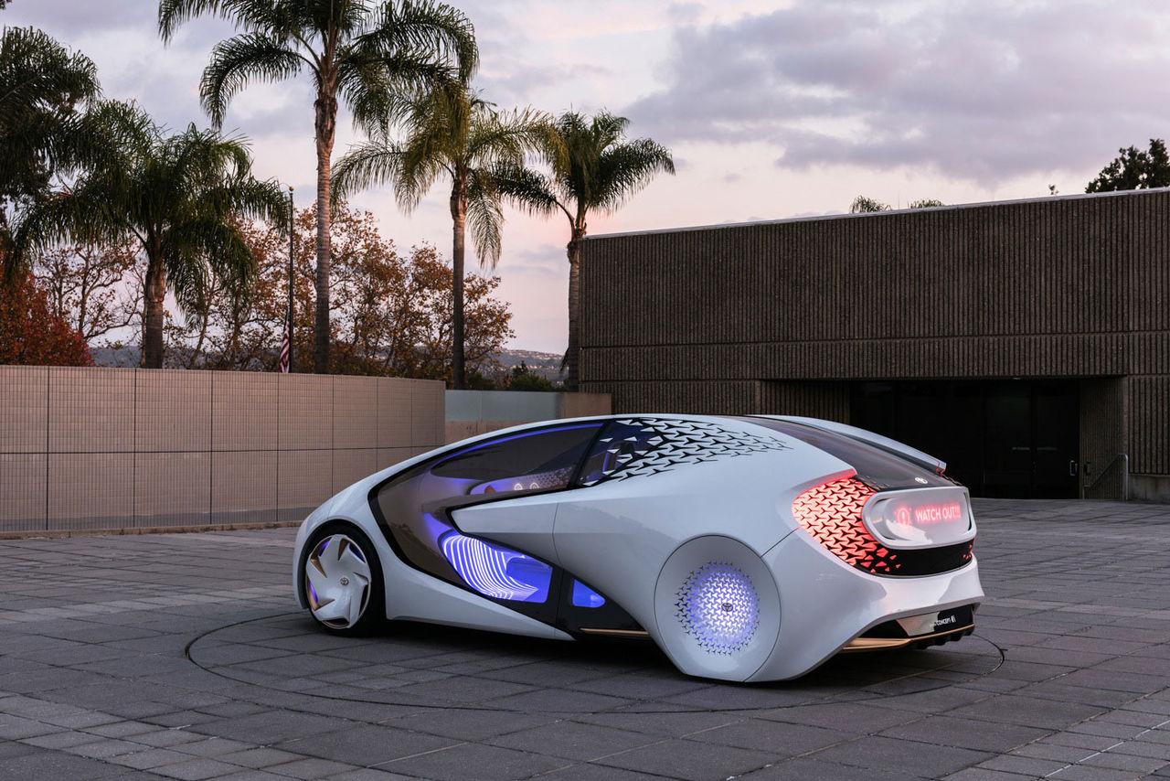 Toyota visar koncept som vill bli kört