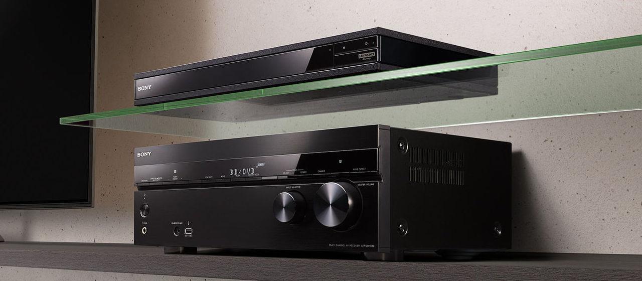 Sony visar produkter för hemmabiofolket