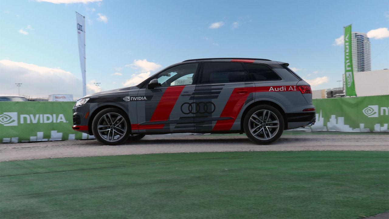Audi och Nvidia samarbetar runt självkörande bilar