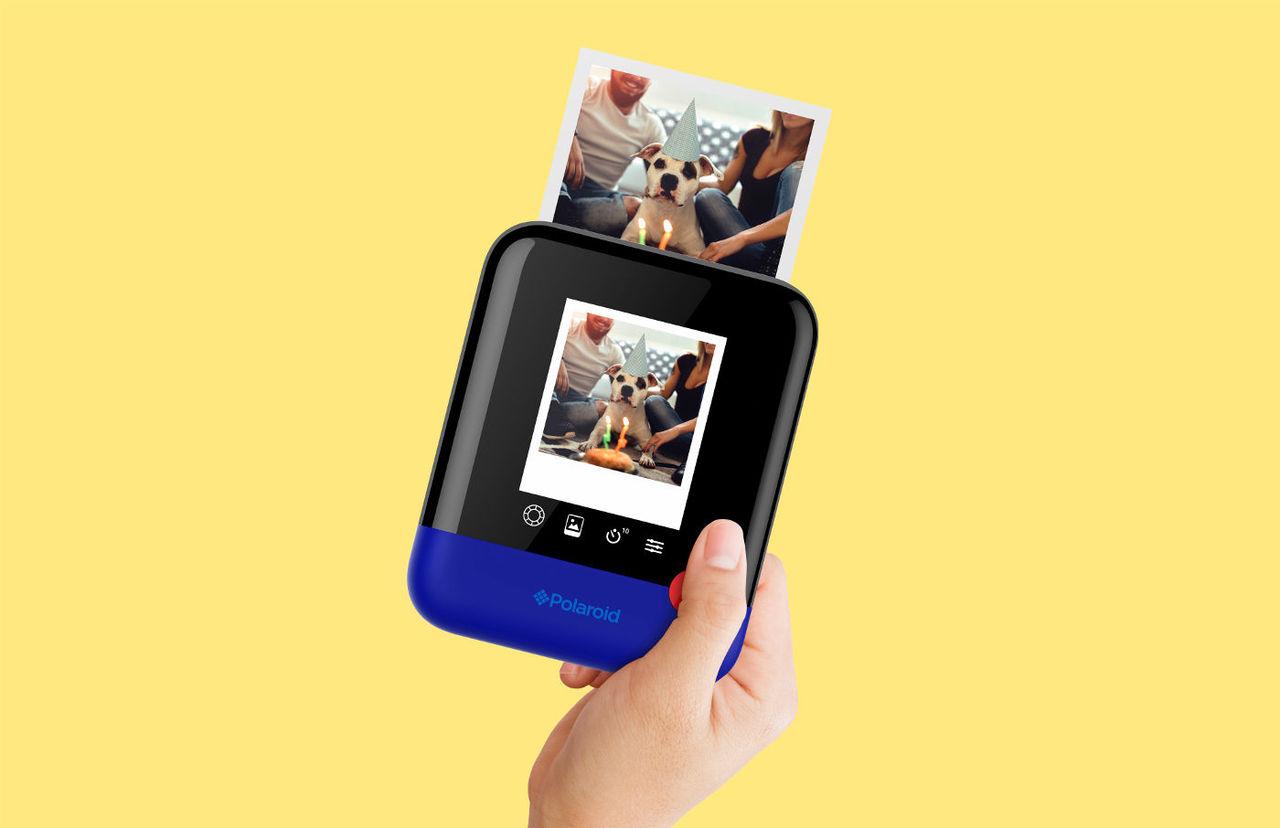 Polaroid Pop är en kamera som kan skriva ut bilderna