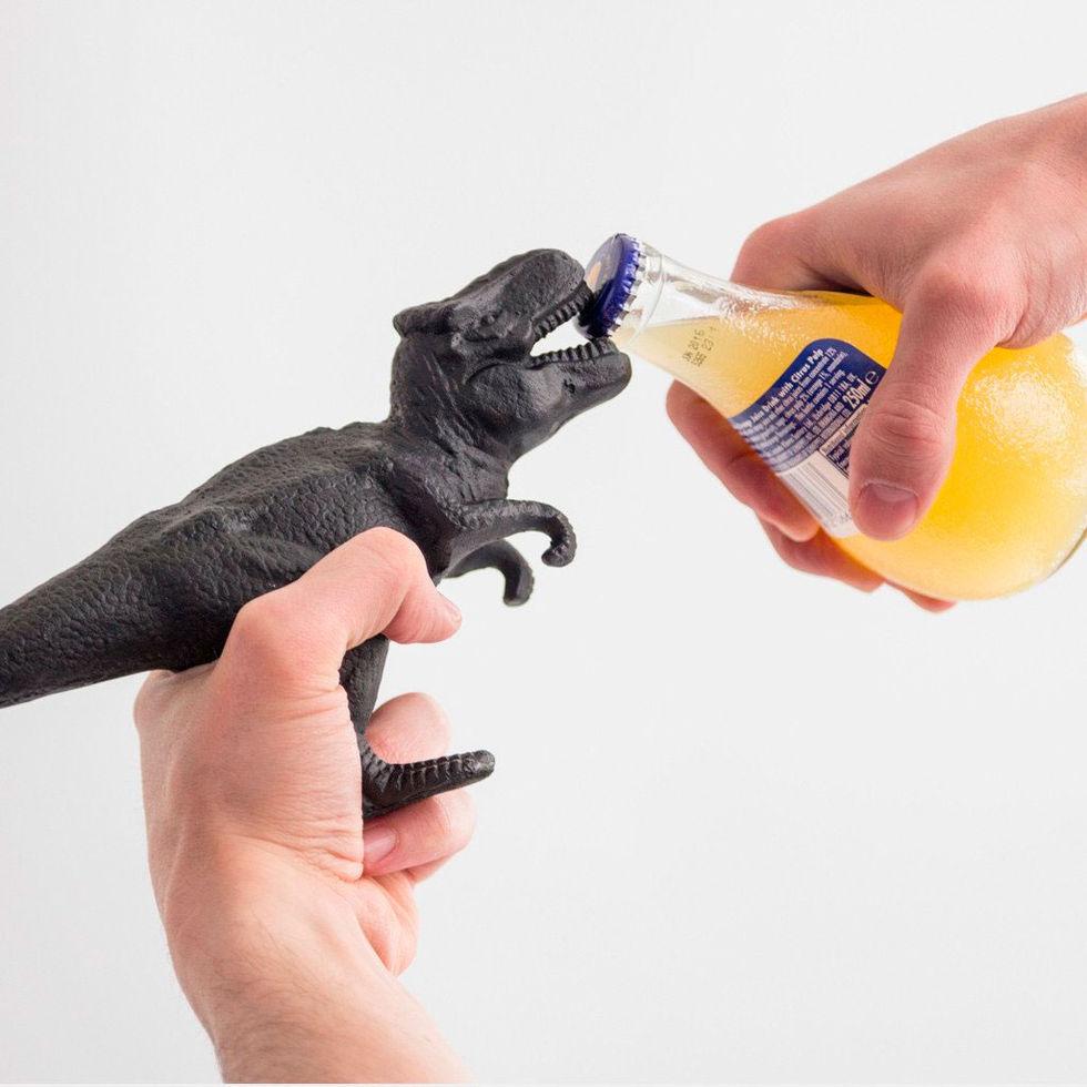 Öppna flaskan med dinon