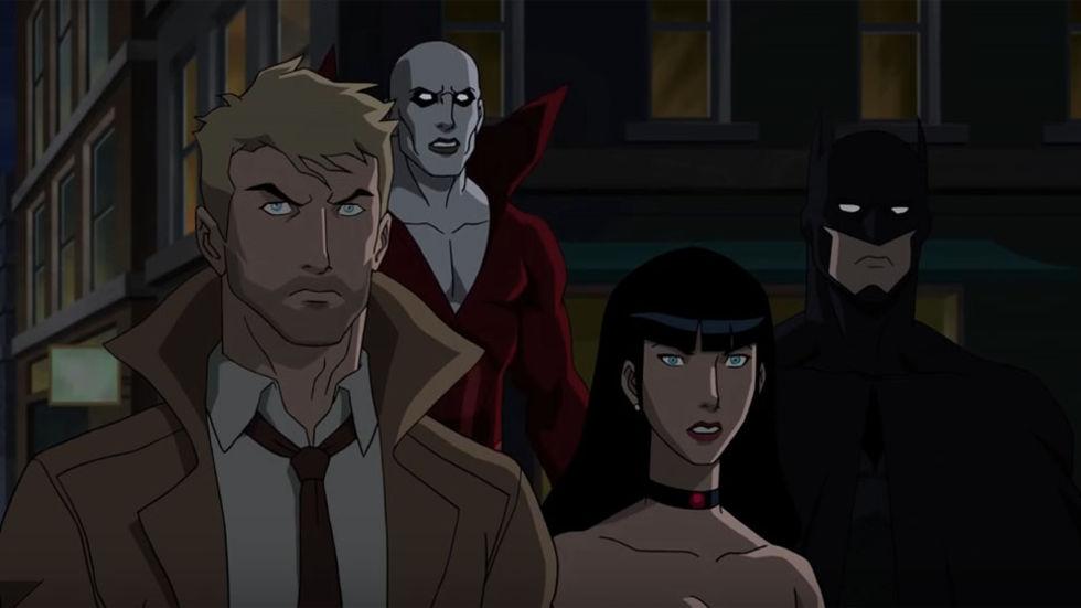 Constantine återvänder som animerad serie