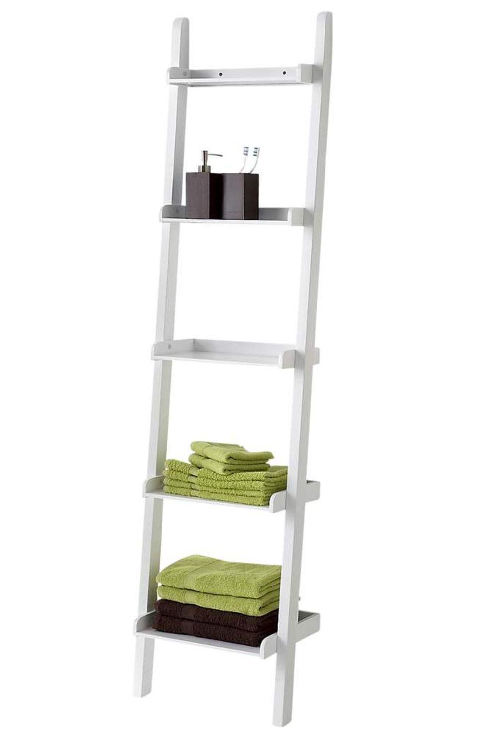 Kända Smart förvaring på en stege. Hylla till badrummet   Feber / Hem PG-36