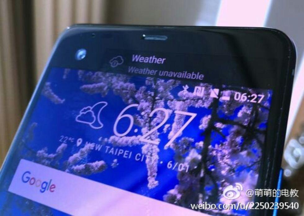 HTC Ocean Note dyker upp på bild med extraskärm