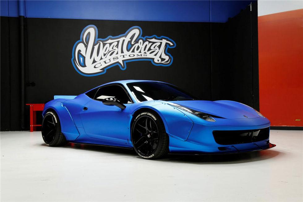 Köp Justin Biebers gamla Ferrari