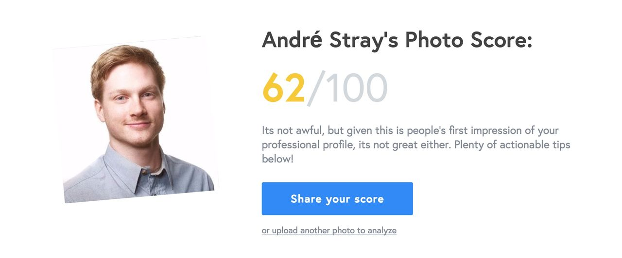 Låt AI bedöma din LinkedIn-bild