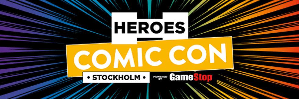 Datum spikat för årets Comic Con Stockholm