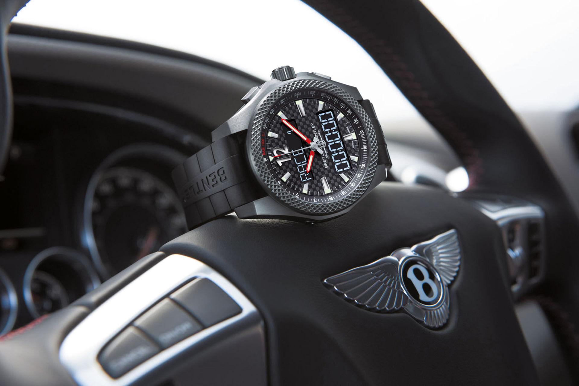 Breitling visar nytt samarbete med Bentley