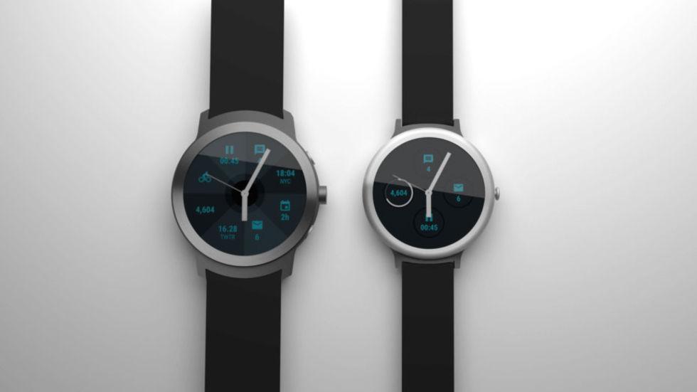 LG sägs bygga de första Wear 2.0-klockorna