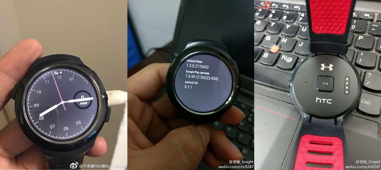 Ytterligare bilder på HTC:s smarta klocka dyker upp