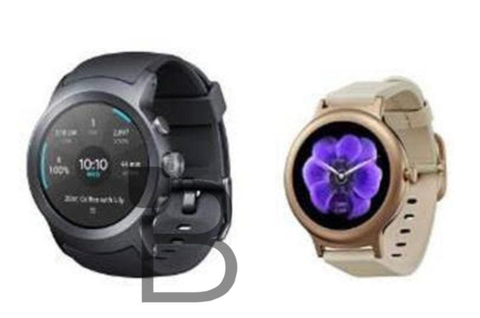 Läckta bilder visar LG:s nya smarta klockor