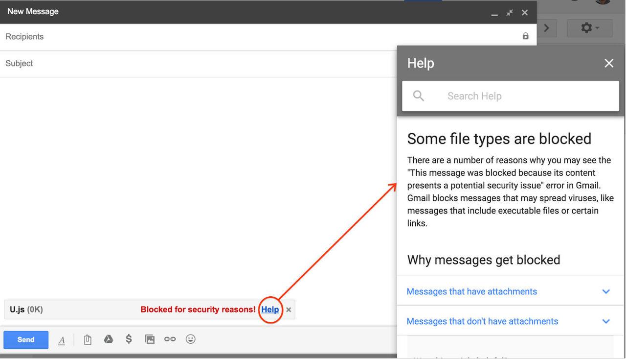 Gmail börjar blockera JavaScript-tillägg