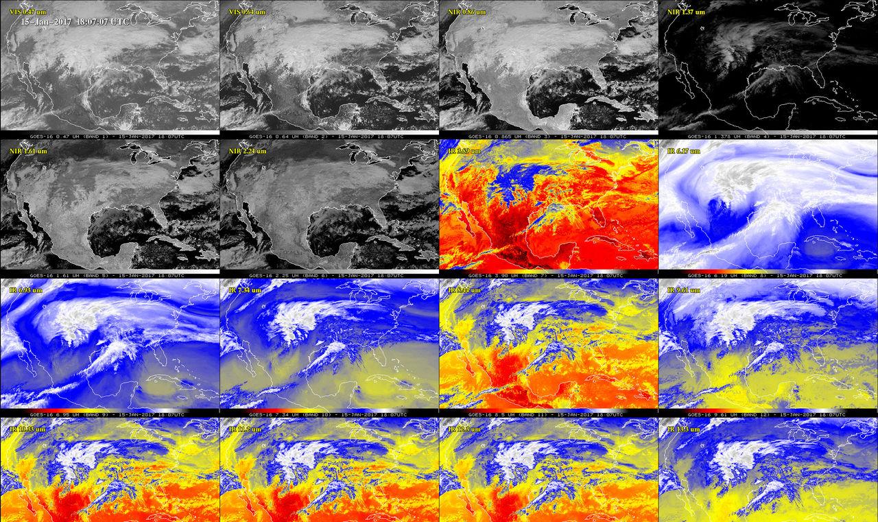 Nya vädersatelliterna från NASA kan lättare förutspå oväder