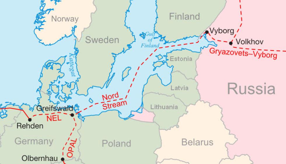 Regeringen verkar backa om Nord Stream 2