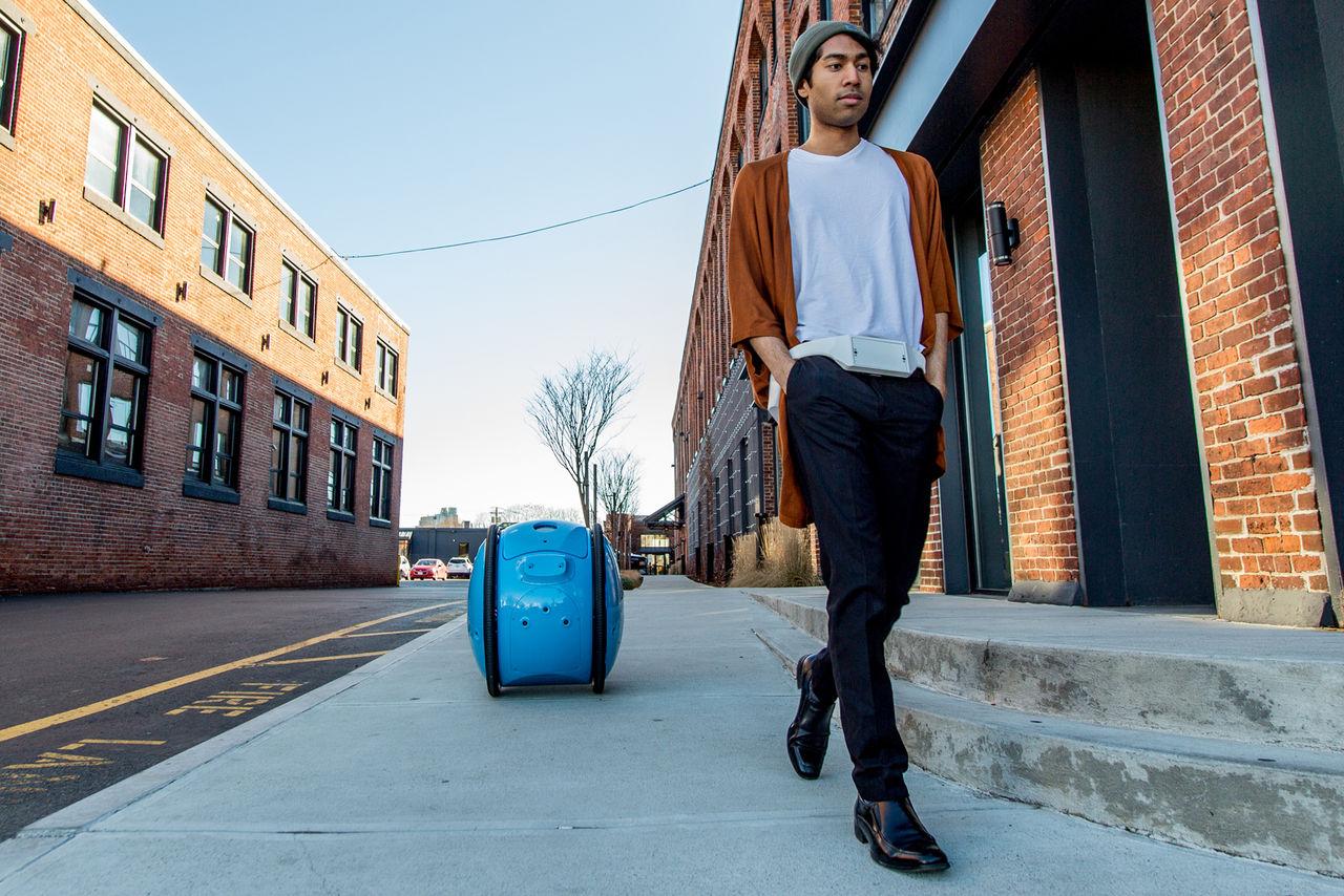 Gita är robotväska som följer efter dig