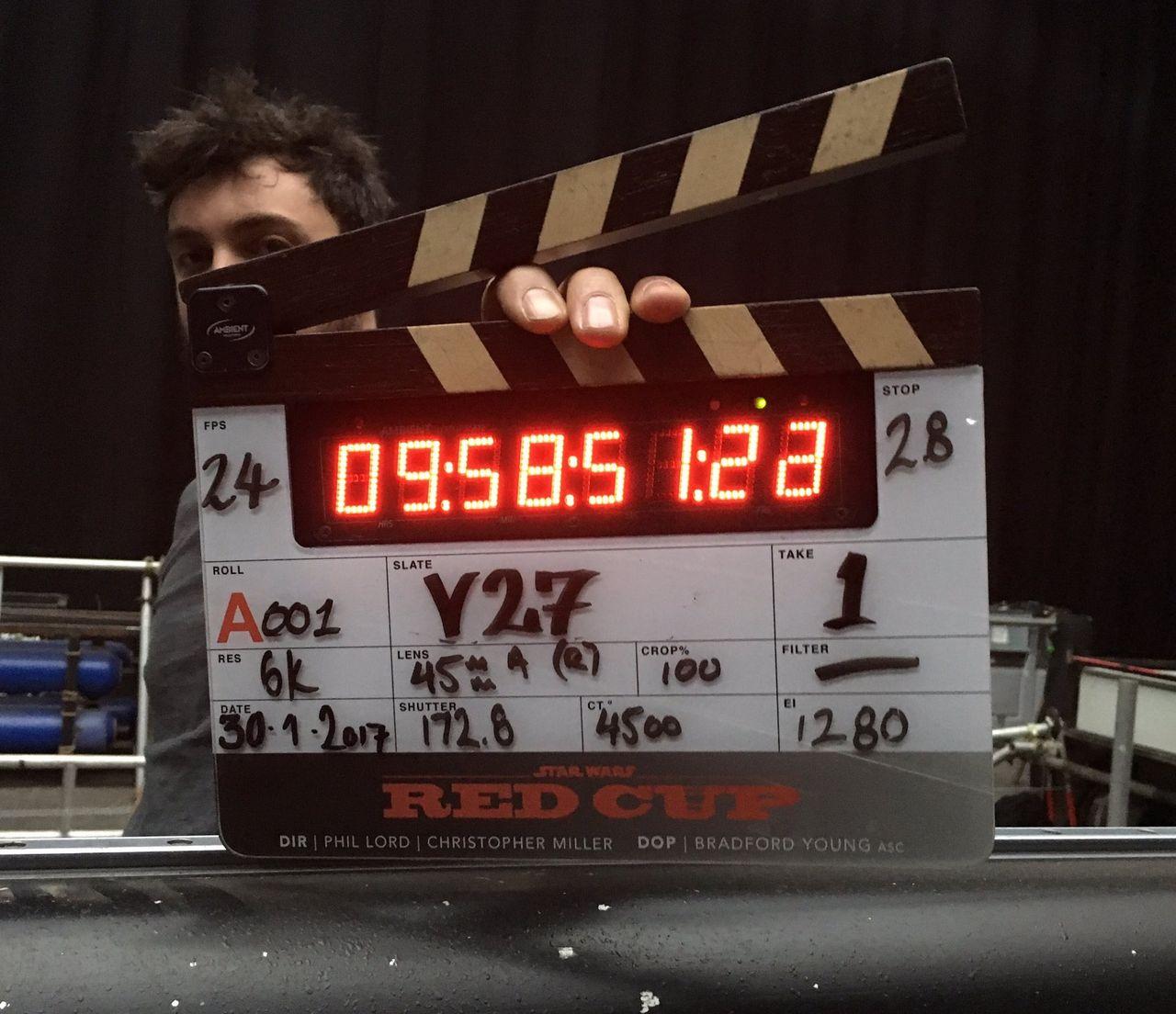Inspelningarna för Han Solo-filmen har börjat