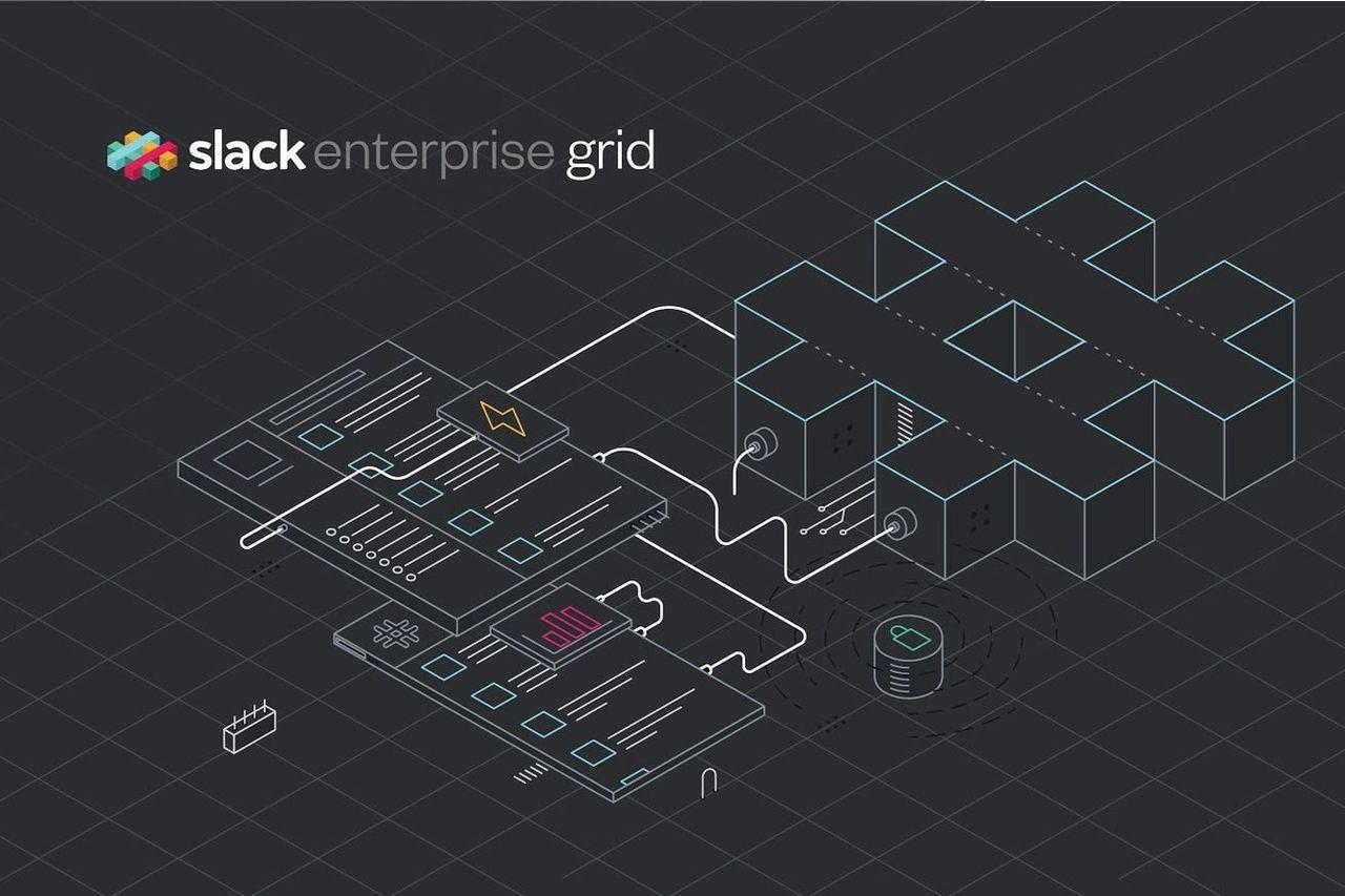 Slack lanserar Enterprise Grid