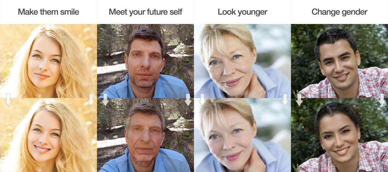 Manipulera selfies med FaceApp