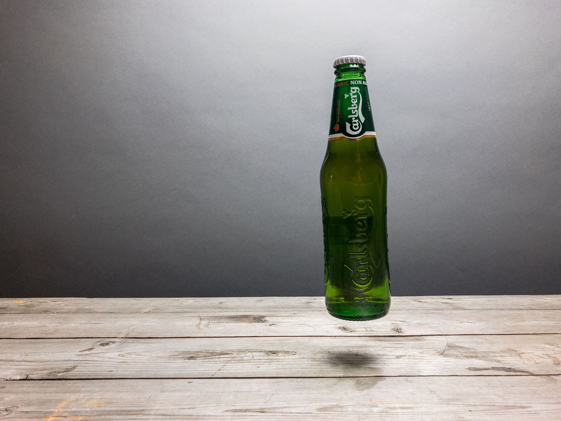 Carlsberg gör även alkofri öl ekologisk