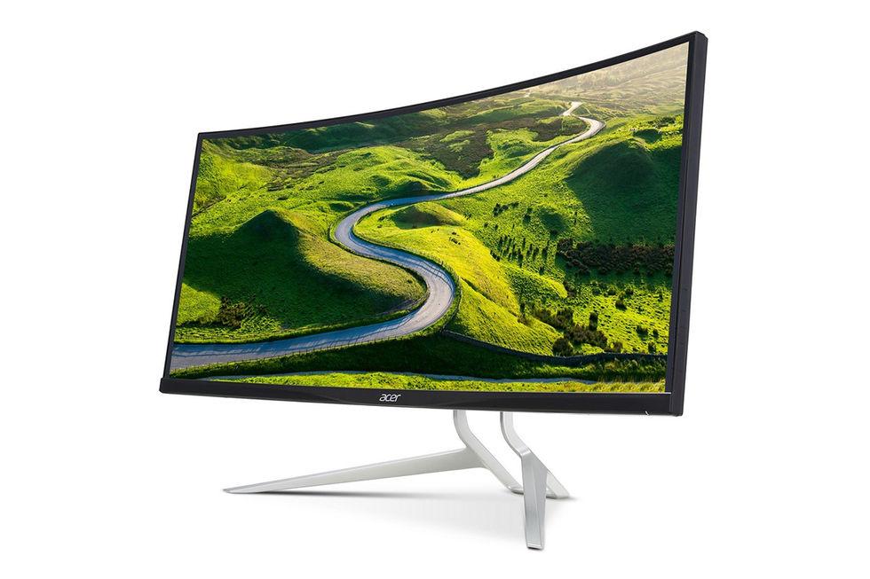 Nu finns Acers ultrabreda spelskärm på 37,5 tum i butik