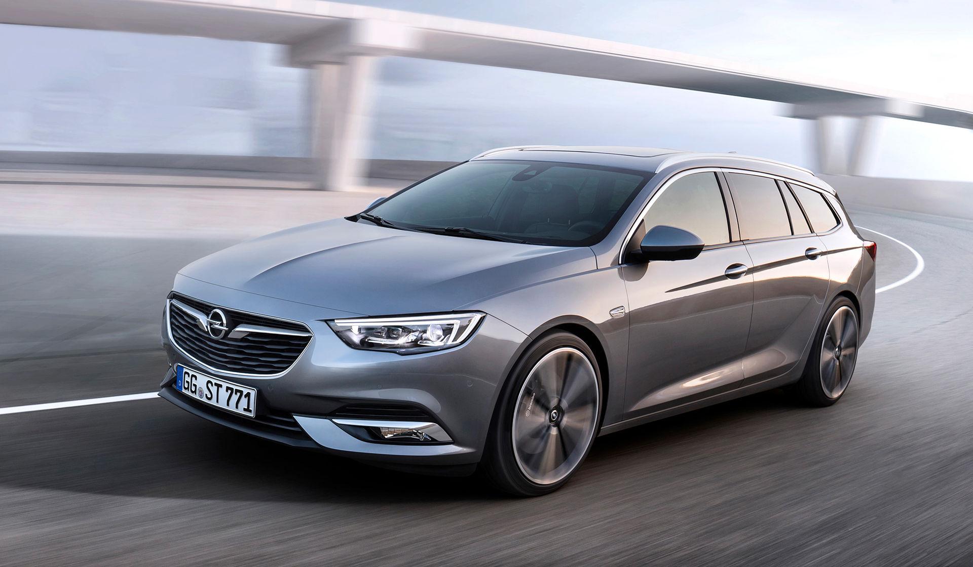 Opel visar nya Insignia i kombiutförande