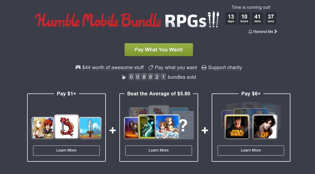 Ny Humble Bundle ger dig rollspel i luren