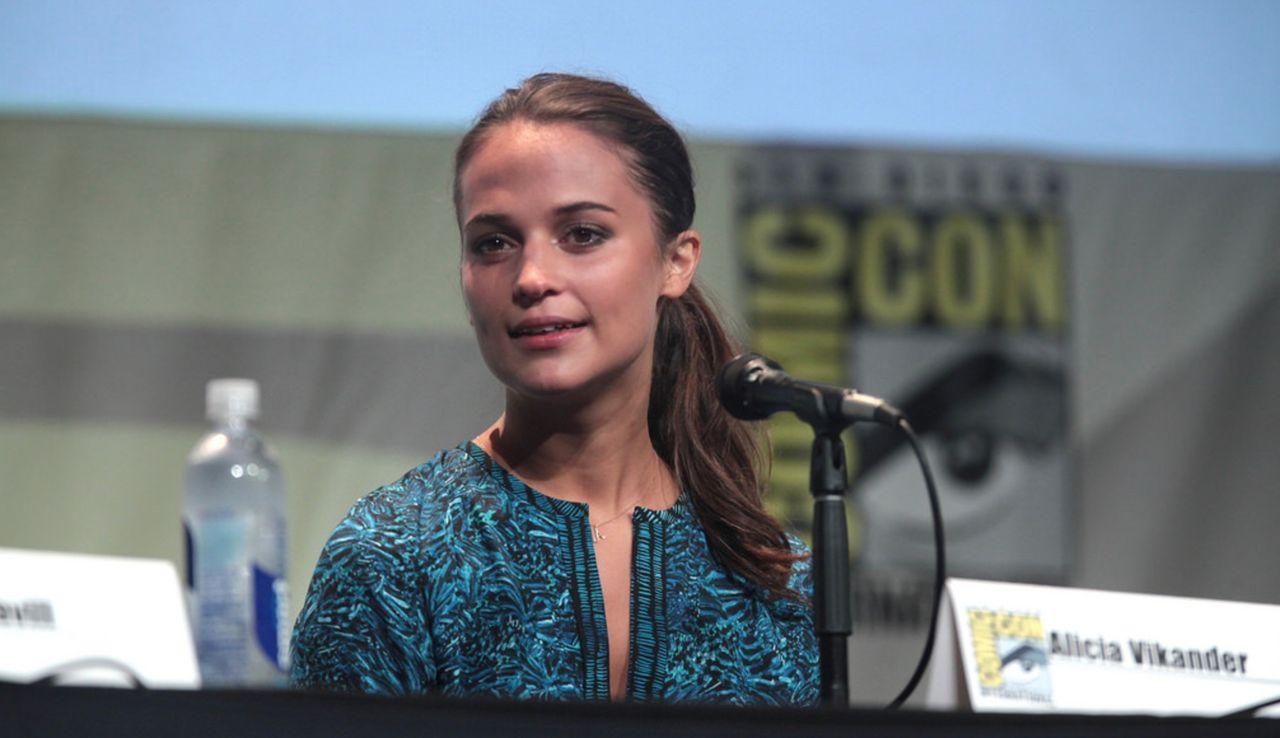 Bilder från inspelningen av Tomb Raider-filmen
