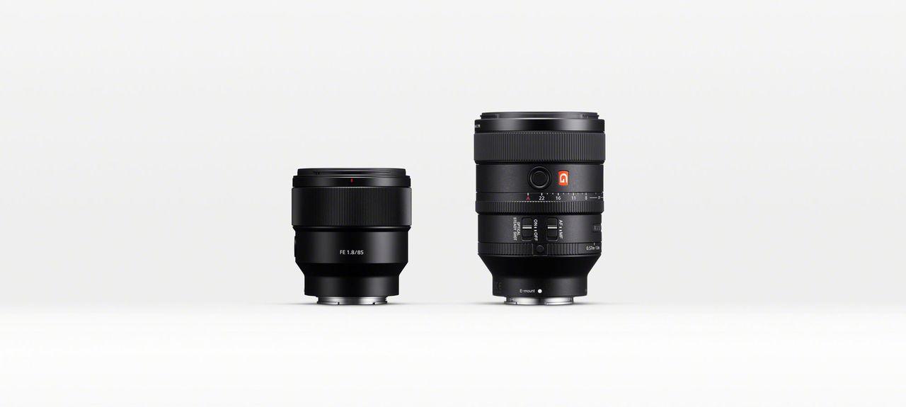 Sony lanserar FE 100mm F2.8 STF och FE 85mm F1.8