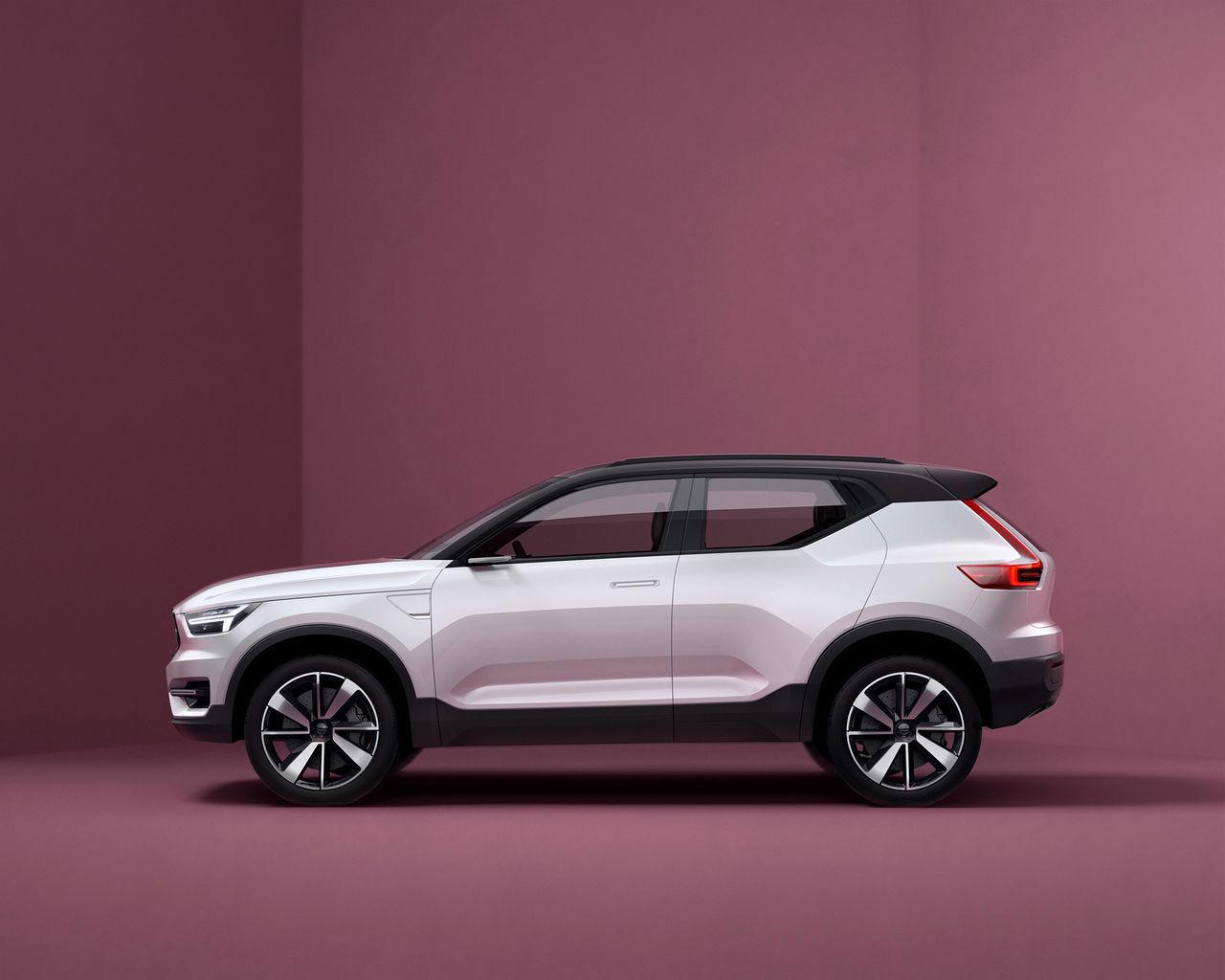 Volvo kommer att presentera XC40 och nya XC60 i år