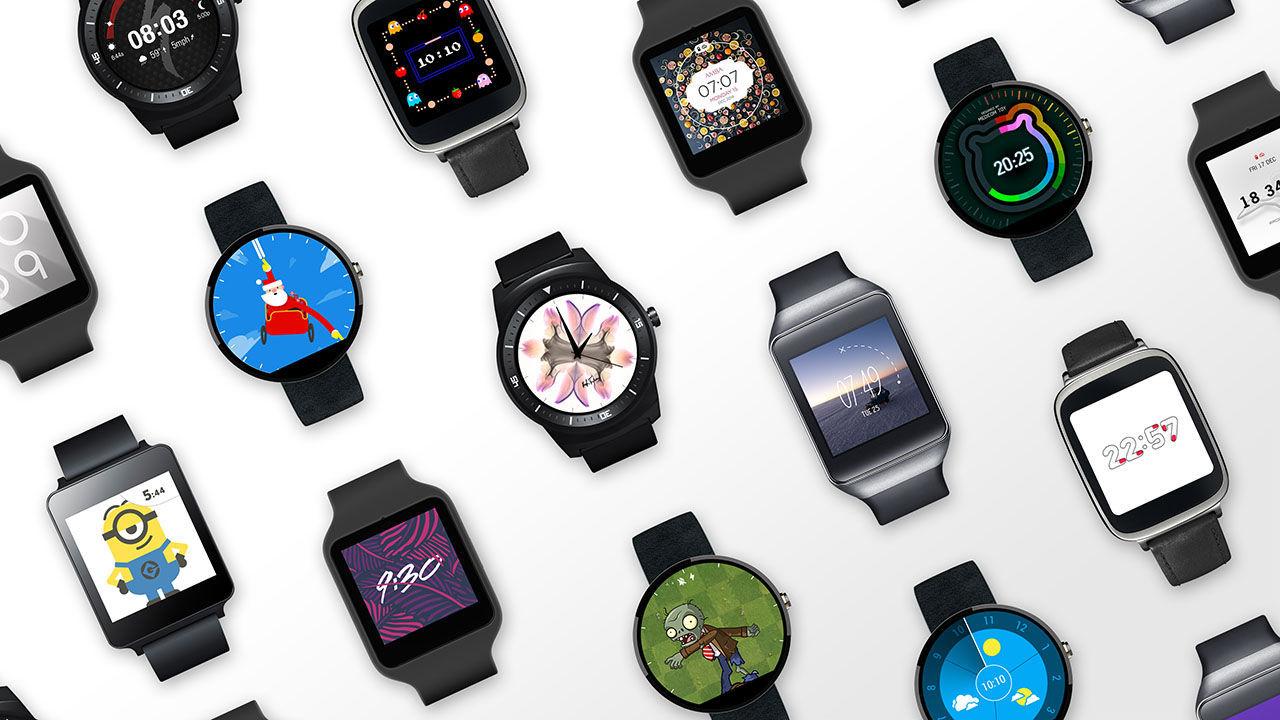 Google listar klockor som får Android Wear 2.0
