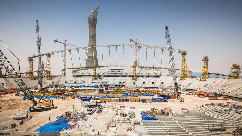 VM i Qatar väntas kosta  1 777 552 000 000 kronor