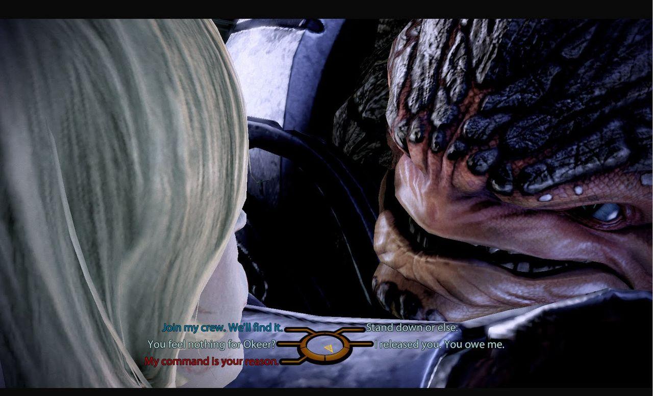 Inget Paragon och Renegade i Mass Effect: Andromeda