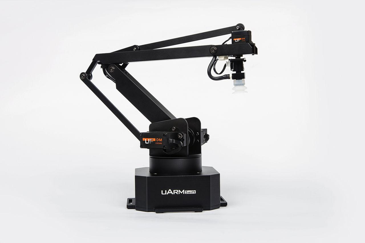 uArm Swift är en robotarm du kan ha på skrivbordet