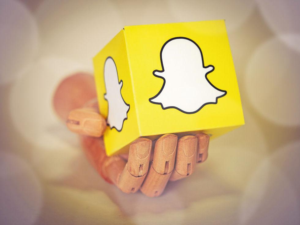 Allt fler äldre använder Snapchat