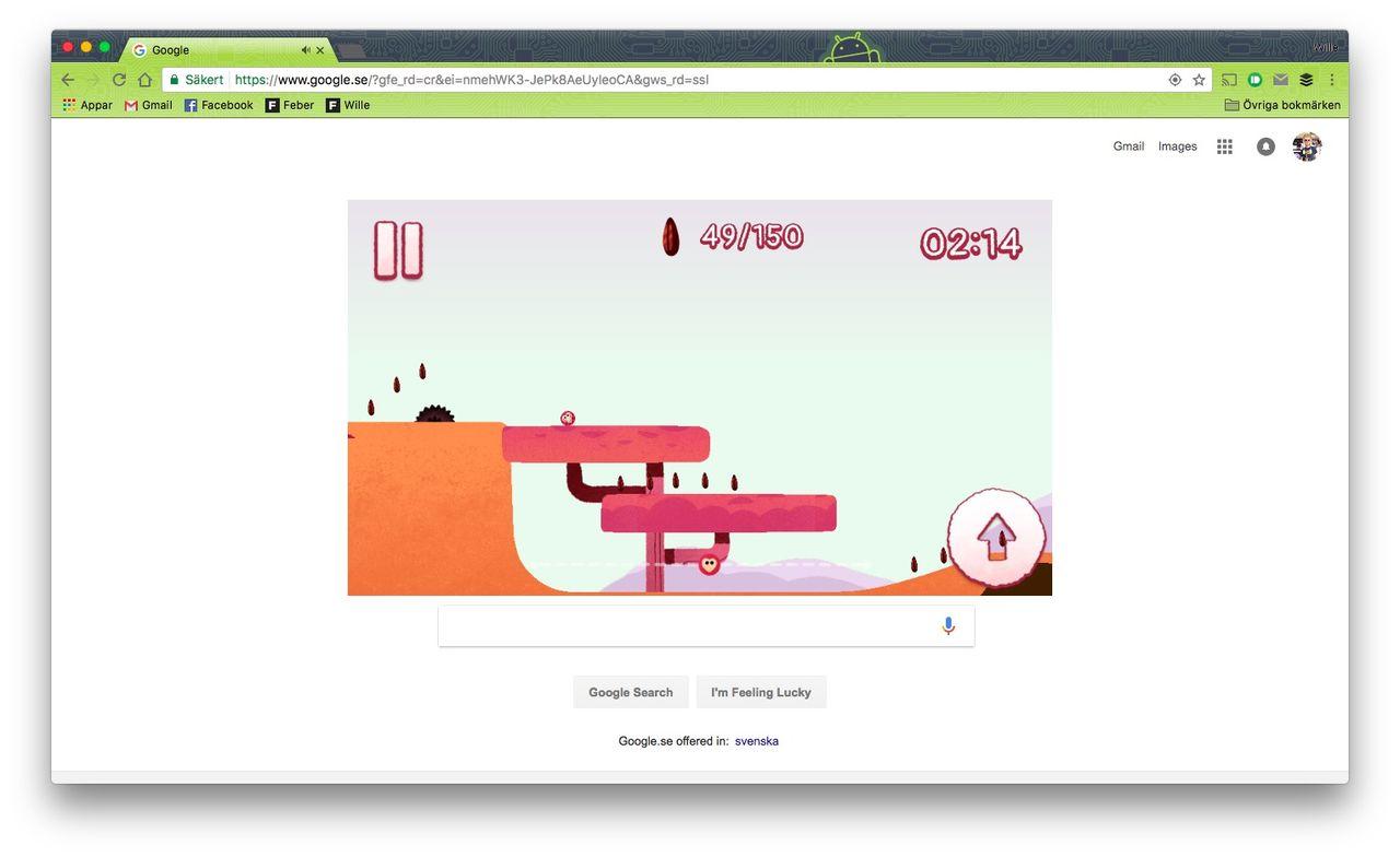 Dagens Google Doodle vill rädda myrkottar
