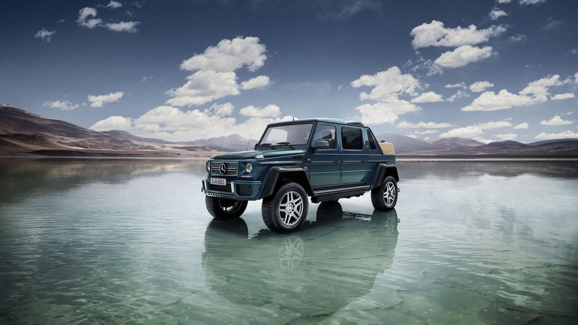 Mercedes fläsk-SUV är här