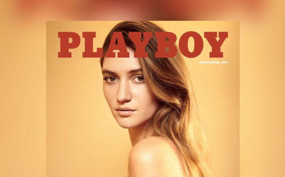 Playboy börjar med naket igen