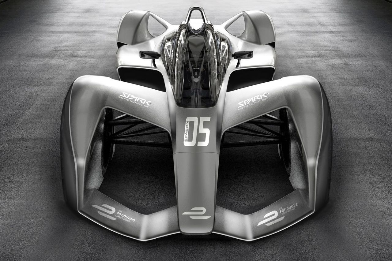 Konceptbilder på kommande Formel E-bilar