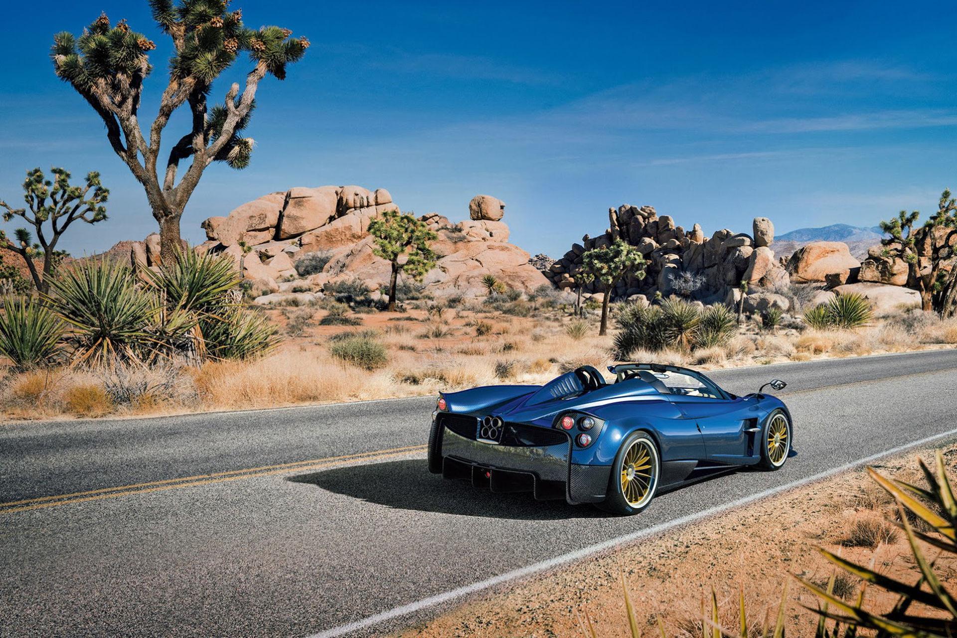 Välkomna våren med Pagani Huayra Roadster
