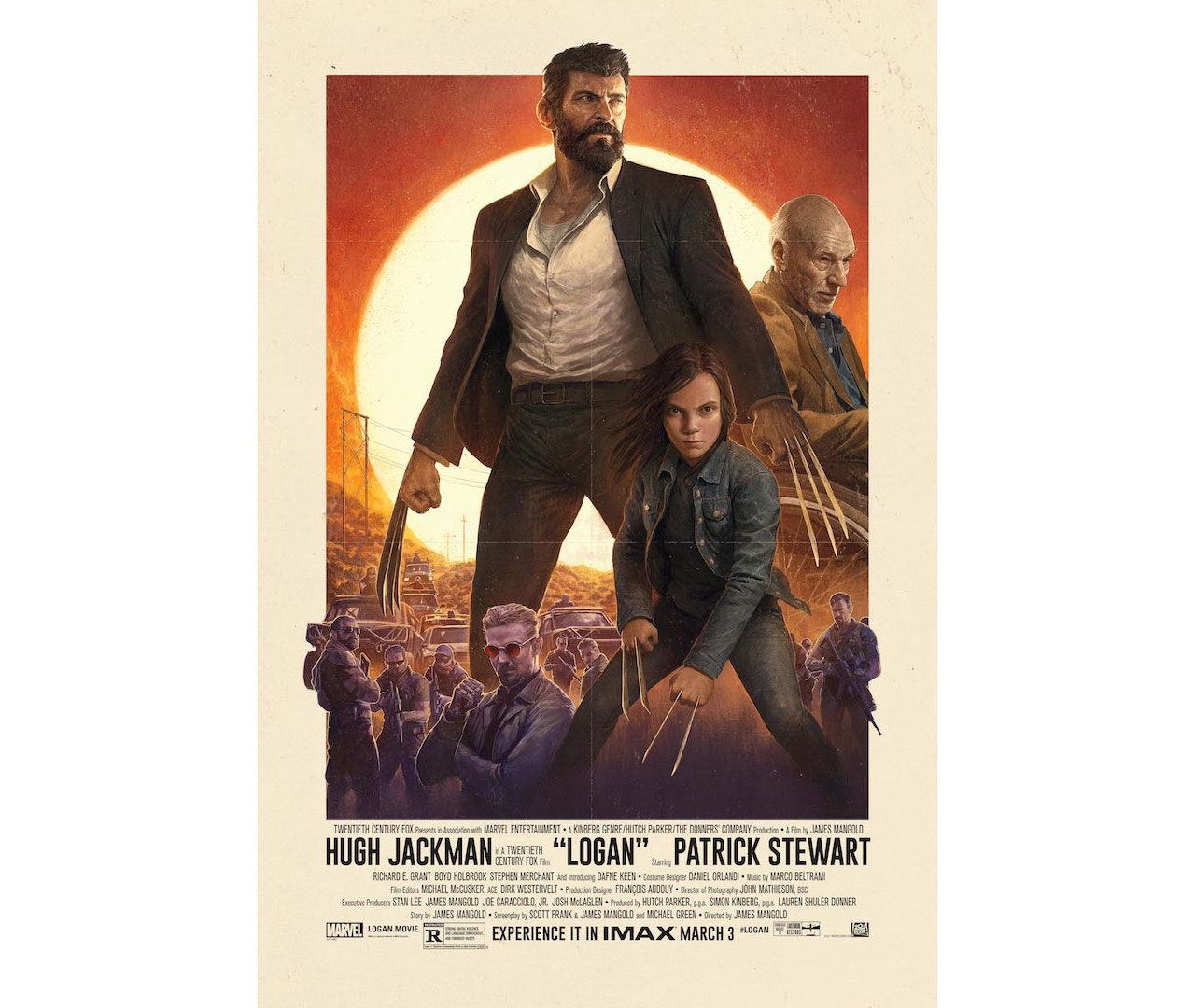 IMAX-affischen för Logan är grym