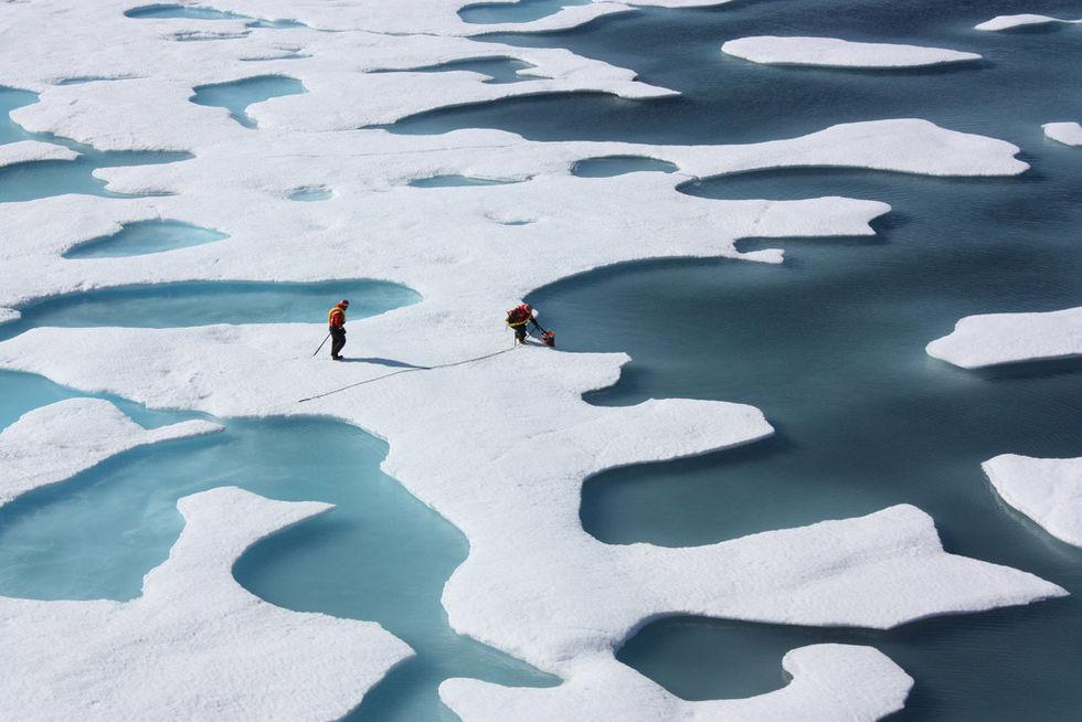 Forskare vill frysa ner Arktis igen