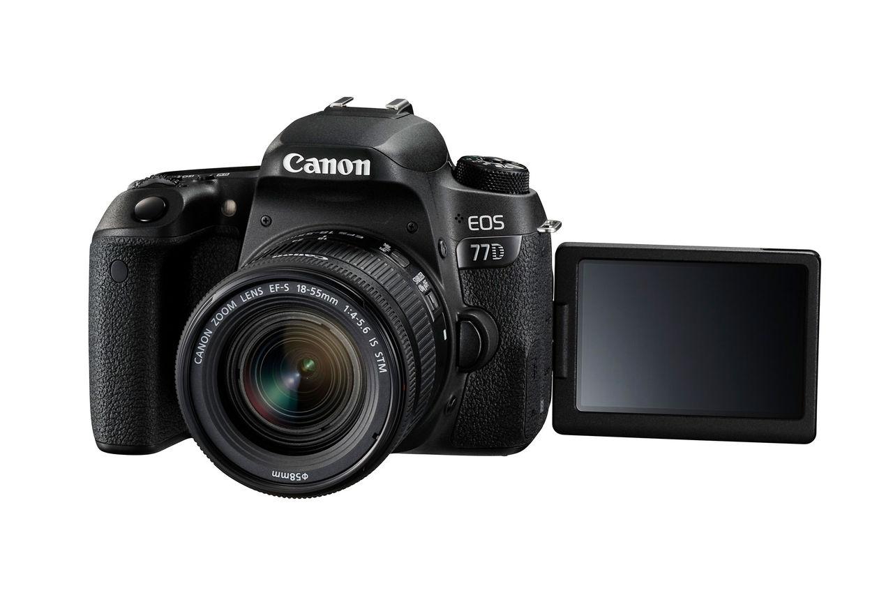 Canon presenterar 800D och 77D