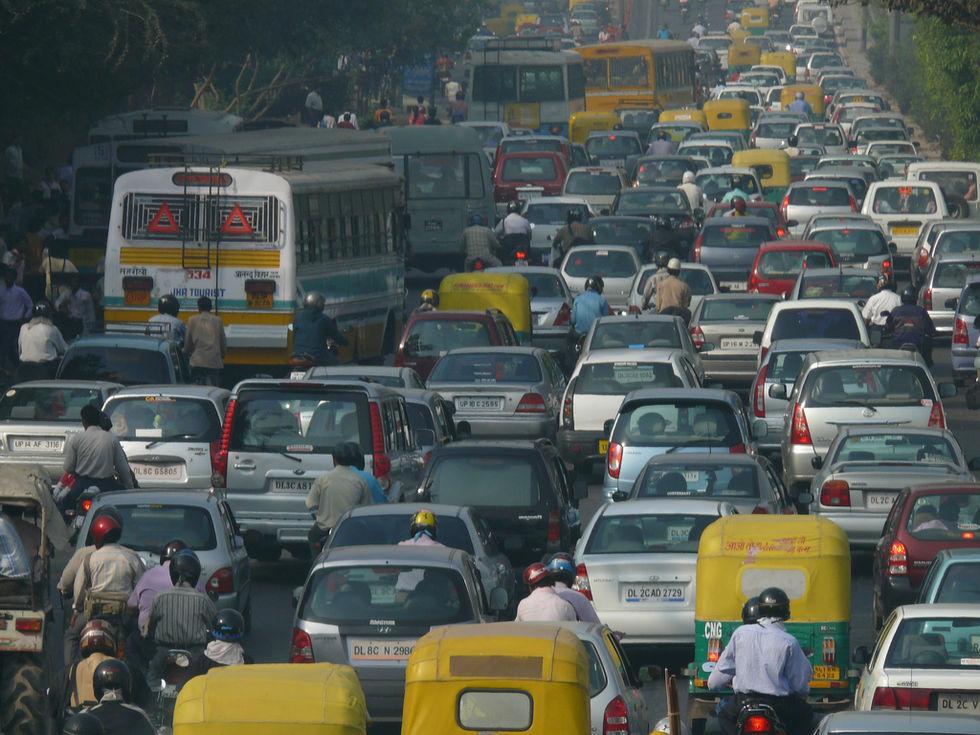 2,2 miljoner dog av luftföroreningar i Kina och Indien