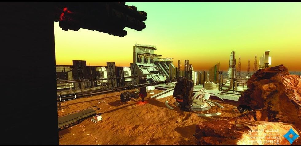 Förenade Arabemiraten ska bygga stad på Mars