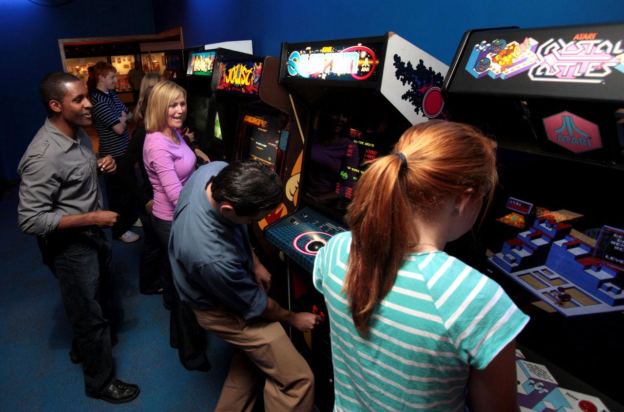 Museum kör utställning om kvinnor i spelbranschen