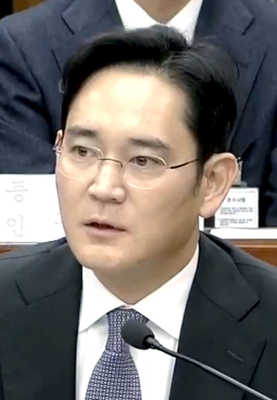 Samsung-chef gripen för mutbrott i Sydkorea