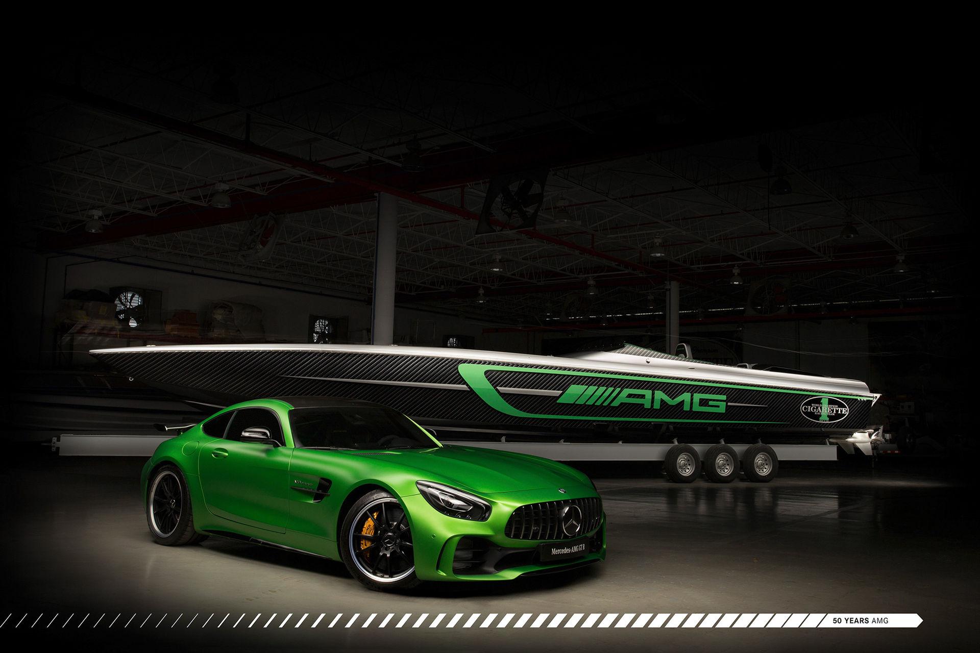 Ny båt som matchar din Mercedes-AMG GT R