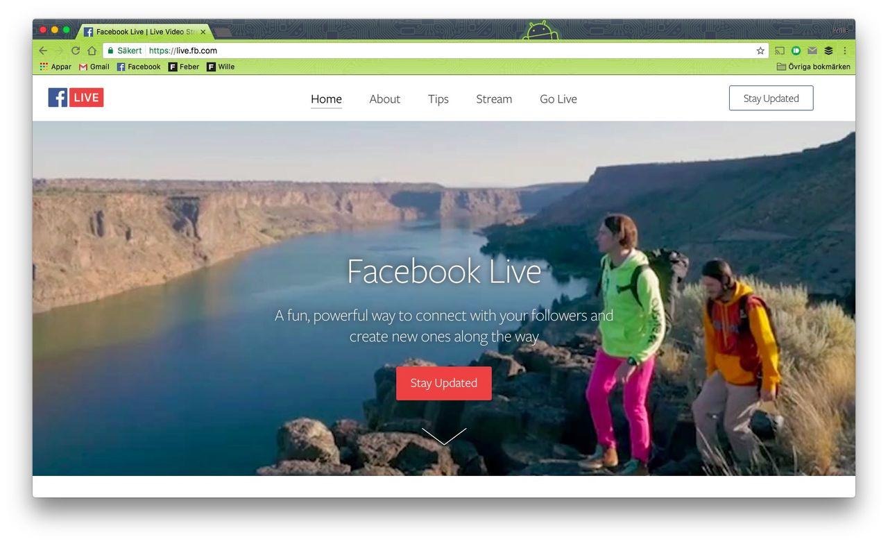 TV-kanaler har rätt att sända dina Facebook Live-videos