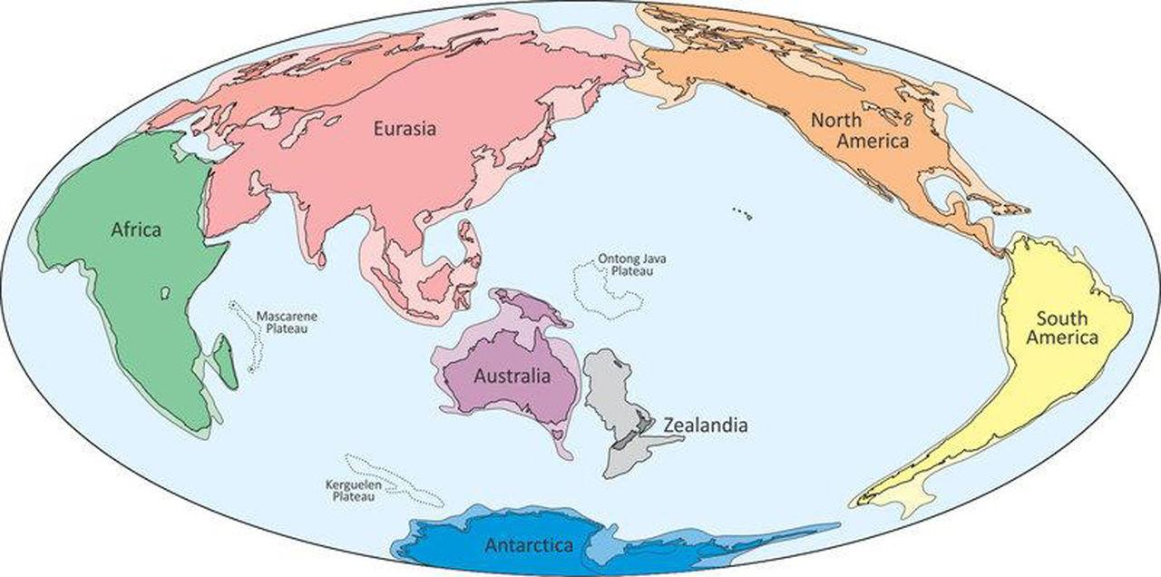 Geologer säger sig ha hittat ännu en okänd kontinent